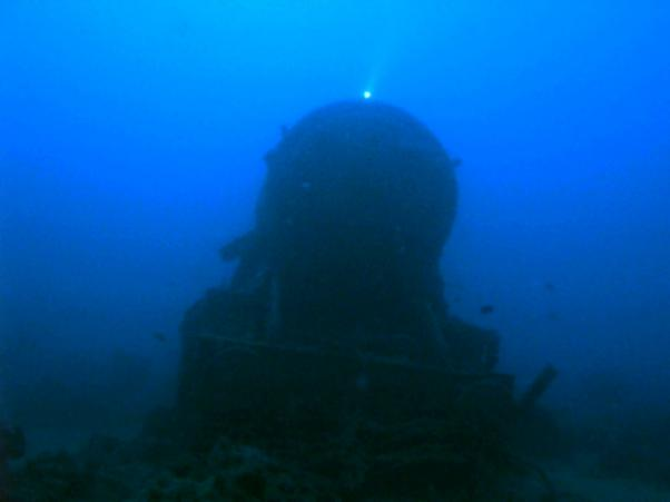 Thistlegorm. Locomotive